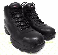 Annte Shoes Men/'s Oil Slip Resistant Restaurat shoes Black Leather A5671