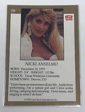 1992 Lime Rock Pro Cheerleaders Nicki Anselmo #79