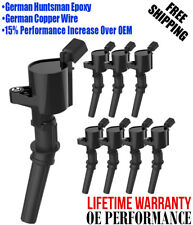 Ignition Coil 8 Pack For Ford 4.6L 5.4L F-150 Xl F250 F550 4.6/5.4L Fd503 Dg508 (Fits: Jaguar)