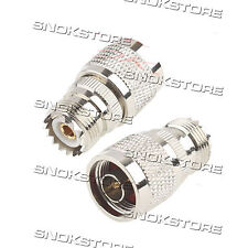 ADATTATORE CONNETTORE adapter connector N MALE to UHF FEMALE PER antenne WIFI