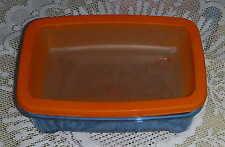 Tupperware MicroFrost - 1,3 l - blau / orange - NEU