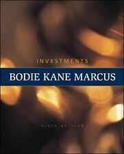 Investments by Zvi Bodie Kaen Marcus Gold Standard Investment Text Hardcover