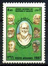 Afghanistan 1987-Khan Abdul Ghaffar Khan, Pashtun-S.G. 1164, 1Value, MNH