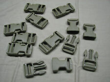 """10 tan buckles clip snaps 1"""" quick release camping gear"""