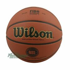 Wilson Solution Official NBL Game Ball Indoor Basketball Size 7