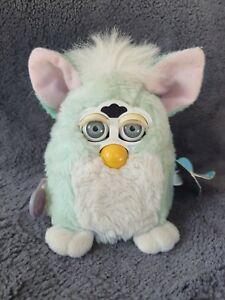 Tiger Electronics Vintage 1999 Furby Babies Mint Green Gen 1 WORKING
