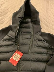 Nike Aeroloft 800 Downfill Tech Fleece Hooded Jacket Seaweed 806838-364 2XL XXL