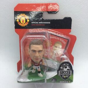 NEW OFFICIAL MANCHESTER UNITED FC NEMANJA VIDIC SOCCERSTARZ FOOTBALL FIGURE