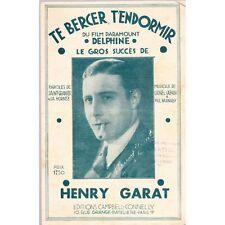 TE BERCER T'ENDORMIR Film DELPHINE de St-GRANIER-HORNEZ Musique CAZAUX et BARNAB