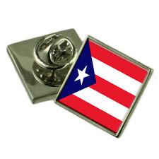 Puerto Rico Pin con Bandera 18mm Elegir Bolsa de Regalo