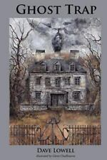 GHOST TRAP signed novel by Dave Lowell  (Free shipping!)