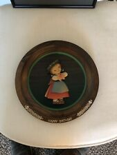 "Juan Fernandez Anri ""Happy Birthday� 1975 Wooden Plate"