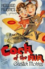 1932 COCK OF THE AIR 11X17 POSTER AVIATION AIRPLANE PILOT ART DECO HOWARD HUGHES