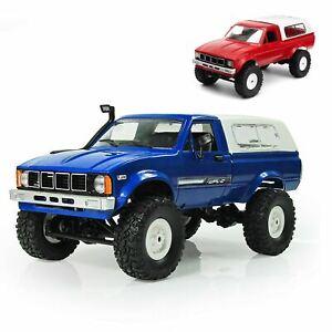 WPL C24 1/16 RC 4WD 2.4G Off Road Vehicle Ute Car Military Truck Crawler DIY Kit