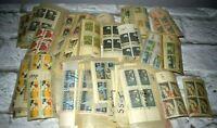 Lot of 1969 Stamps & Plate Blocks Baseball Football Astronaut Alabama California