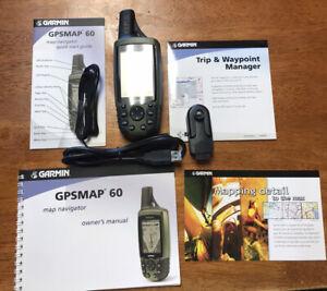 Garmin GPSmap 60C Handheld GPS Bundle. Excellent Condition. Free Shipping