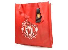 Manchester united team crest badge réutilisable shopping fourre-tout épaule eco sac