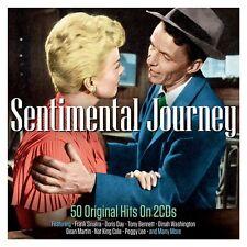 Sentimental Journey VARIOUS ARTISTS Best Of 50 Easy Listening Songs NEW 2 CD