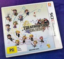 Theatrhythm Final Fantasy for Nintendo 3DS. Australian Release. AUS DS 3DS