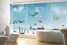 Finding Nemo requins Wall Stickers Kids Garçon Chambre Salle De Bain Poissons & Sea Art Decor