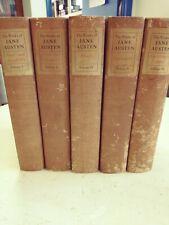 L👀K  Set 5 The Works of Jane Austen in Six Volumes (Missing Vol 3) Harper & Bro