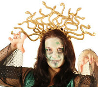 MEDUSA-SNAKE HEADDRESS-GREEK MYTHOLOGY-FANCYDRESS-DANCE COSTUME