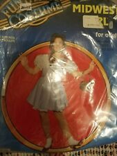 Dorothy Costume Wizard of Oz Halloween Fancy Dress, one size fits all ( medium)