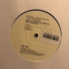 NICOLA FASANO • Been A Long Time • Vinile 12 Mix • TEST PRESSING