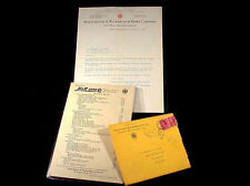 H & R Arms Co. Advertising - Letter, Original Envelope & Price List - 1931