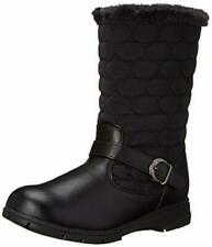 NEW Hush Puppies Soft Style, Pixie Quilted Boots, Black, Size Women 6