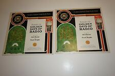 VINYL~REMEMBER THE GOLDEN DAYS OF RADIO Vol 1 & 2 Narrated by Jack Benny NM/NM