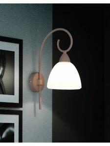 Wall Light Modern Shabby Chic Wrought Iron Beige Havana DESE-136