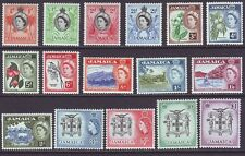 Jamaica 1956 SC 159-174 MH Set