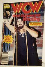 WCW World Championship Wrestling  Comic #6 Mankind Marvel