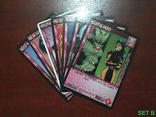 JIM LEE WILDSTORMS CCG PLOT TWIST ASSORTMENT (U) SET B (7 CARDS)