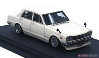 ignition model 1/43 Nissan Skyline 2000 GT-R (PGC10) White Finished product