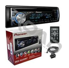 Pioneer Single DIN Bluetooth AM/FM USB AUX CD Player Car Stereo w/ Built-in Amp