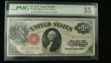 1917 $1 Legal Tender Mule Note - Choice Very Fine-35 PMG - Fr#2083