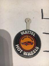 CUSTOM MUSTANG - Mattel Hot Wheels metal badge/pin/button/pinback 1967