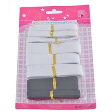 F1: 1Set Bänder Gummiband Gummilitze Hosengummi Wäscheband Schwarz Weiß 11x19cm