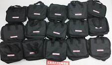 15 NEW CRAFTSMAN TOOL BAGS 11X9X6 CARRYING CASE HOLDER FOR DRILL IMPACT BATTERY
