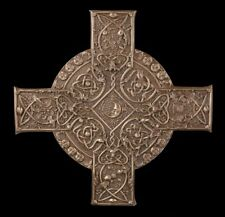 Wandrelief - Keltisches Elementar Kreuz - Fantasy Wanddeko Mystik