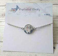 personalised pet photo bracelet, fur baby bracelet, animal keepsake, pet memoria
