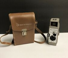 Bell & Howell One Nine 8mm Vintage Movie Camera in Leather Case
