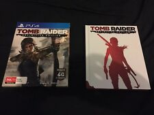 tomb raider definitive edition ps4 limited special collectors edition vgc!
