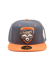 OFFICIAL MARVEL'S GUARDIANS OF THE GALAXY 2 - ROCKET RACCOON SNAPBACK CAP (NEW)