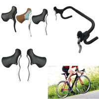 1 Pair Bicycle Road Bike Brake Levers Brake Handlebar For Curve Handlebars