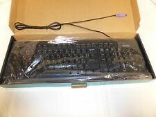 Rainbow Sensor PS/2 Black UK Keyboard NEW