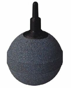 2 Inch (50mm) Ball Airstone, Sintered for Long Life, use in Ponds or Aquariums