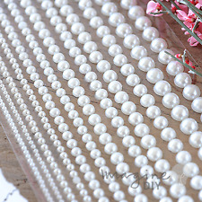 Linea Pearl Mixed Self Adhesive Pearl Sticker rows - Flat-back, Pearl, Gems